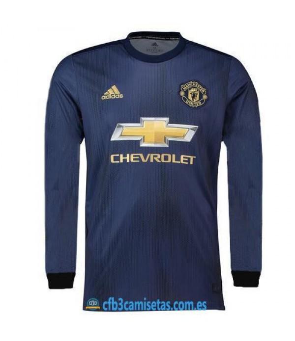 CFB3-Camisetas Manchester United 3a Equipación 2018 2019 ML
