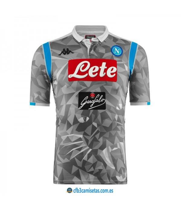CFB3-Camisetas Napoli 3a Equipación 2018 2019