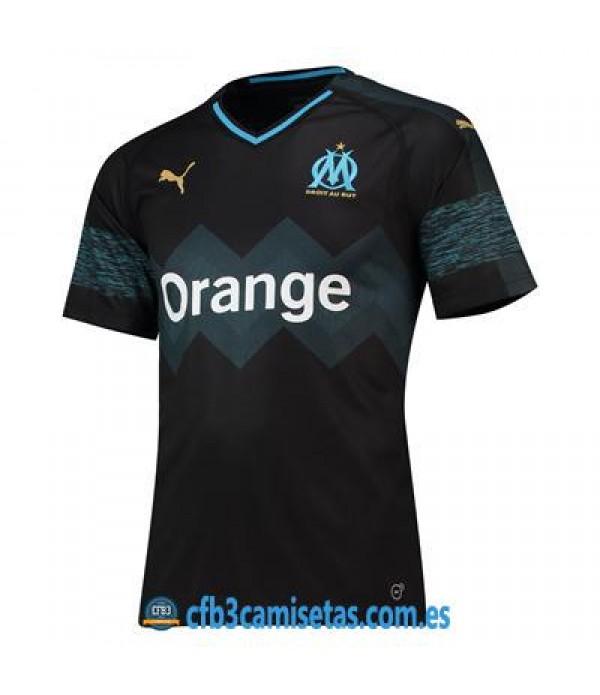 CFB3-Camisetas Olympique de Marsella 2ª Equipación 2018/2019