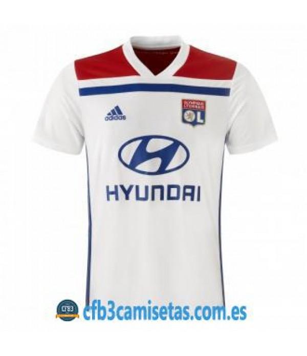 CFB3-Camisetas Olympique Lyon 1a Equipación 2018 2019