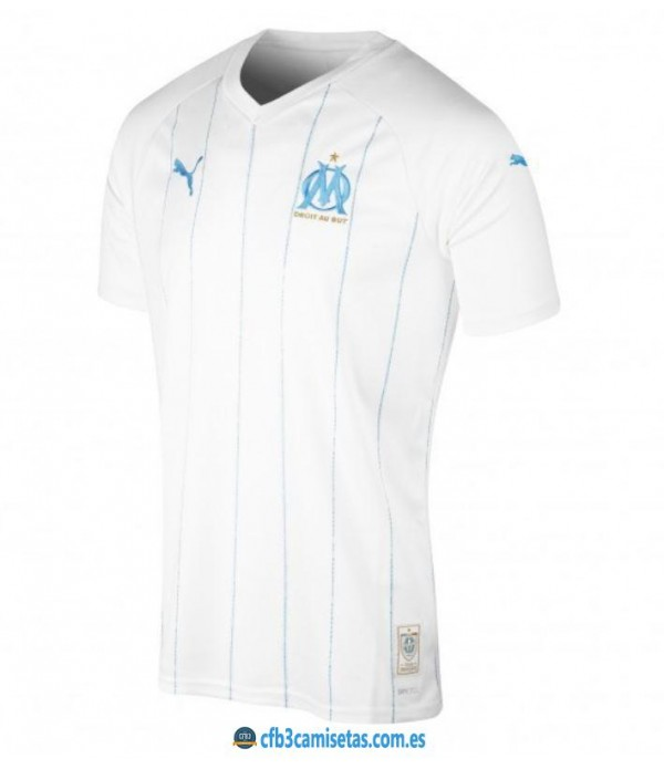 CFB3-Camisetas Olympique Marsella 1a Equipación 2...