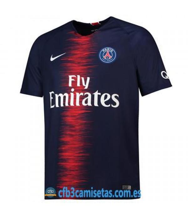CFB3-Camisetas PSG 1a Equipación 2018 2019