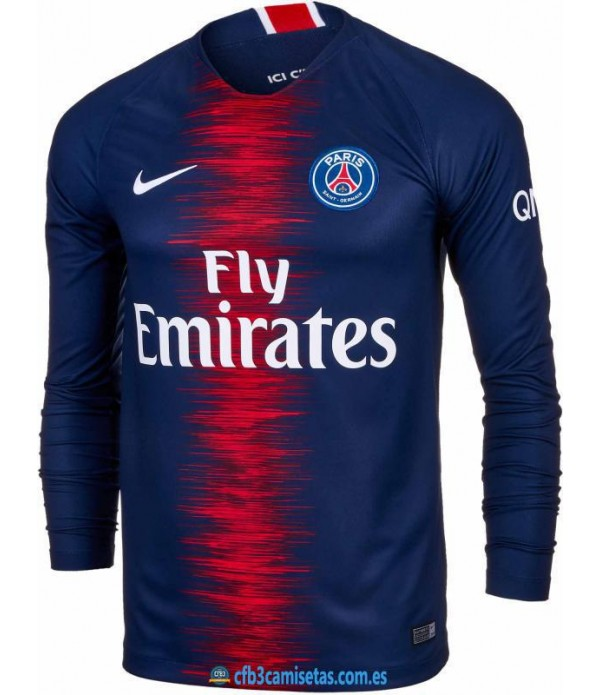 CFB3-Camisetas PSG 1a Equipación 2018 2019 ML