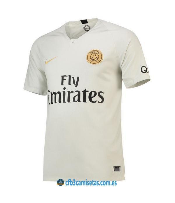 CFB3-Camisetas PSG 2a Equipación 2018 2019