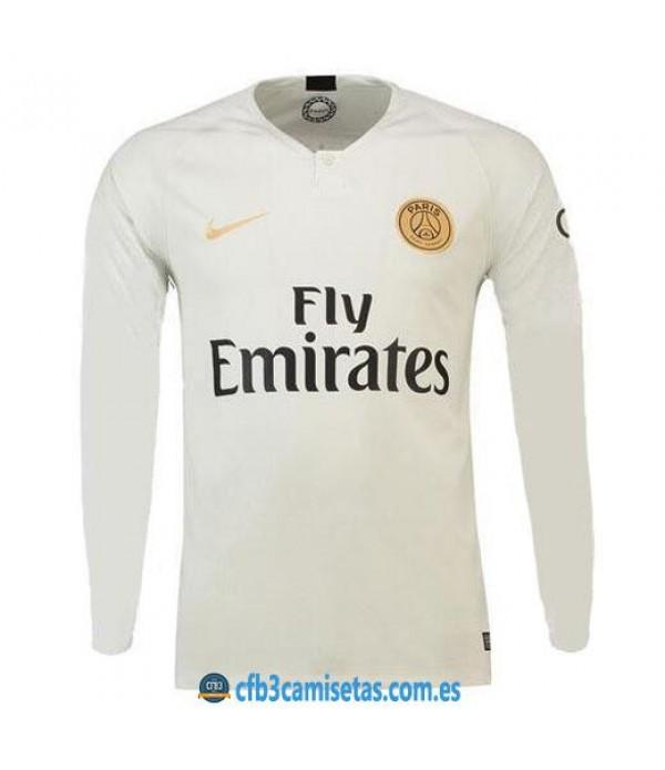 CFB3-Camisetas PSG 2a Equipación 2018 2019 ML