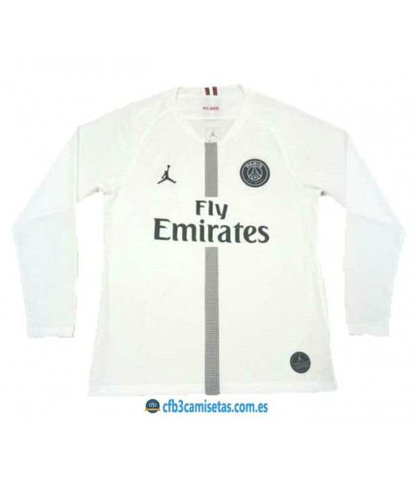 CFB3-Camisetas PSG x Jordan 3a Blanca 2018 2019 ML