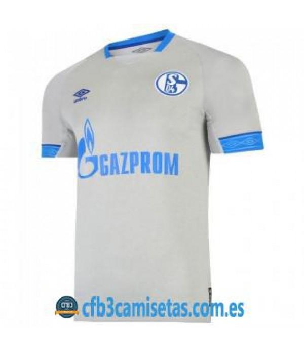CFB3-Camisetas Schalke 04 2a Equipación 2018 2019