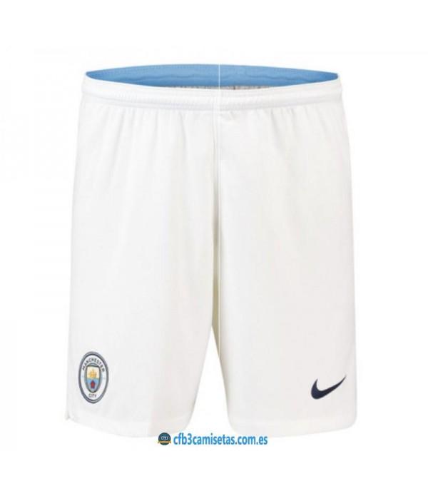 CFB3-Camisetas Pantalones 1a Manchester City 2018 2019