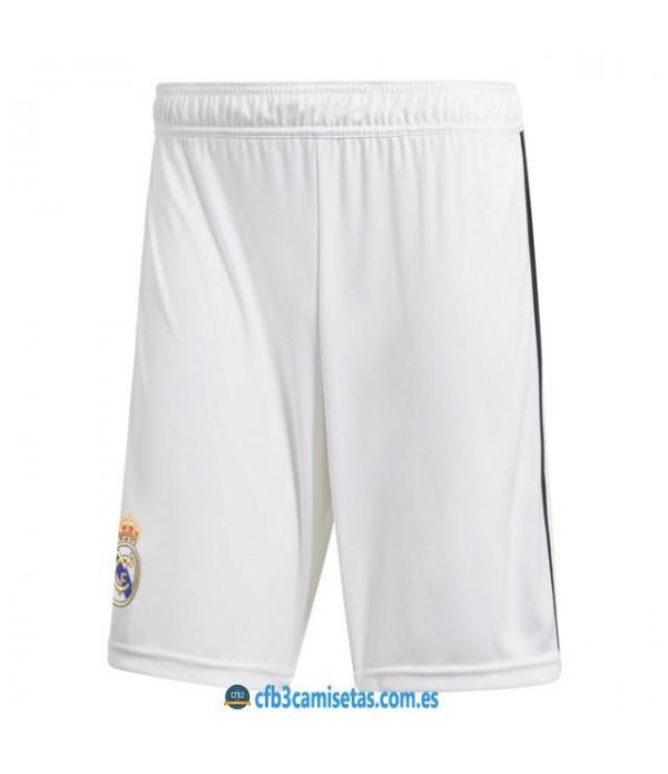 CFB3-Camisetas Pantalones 1a Real Madrid 2018 2019