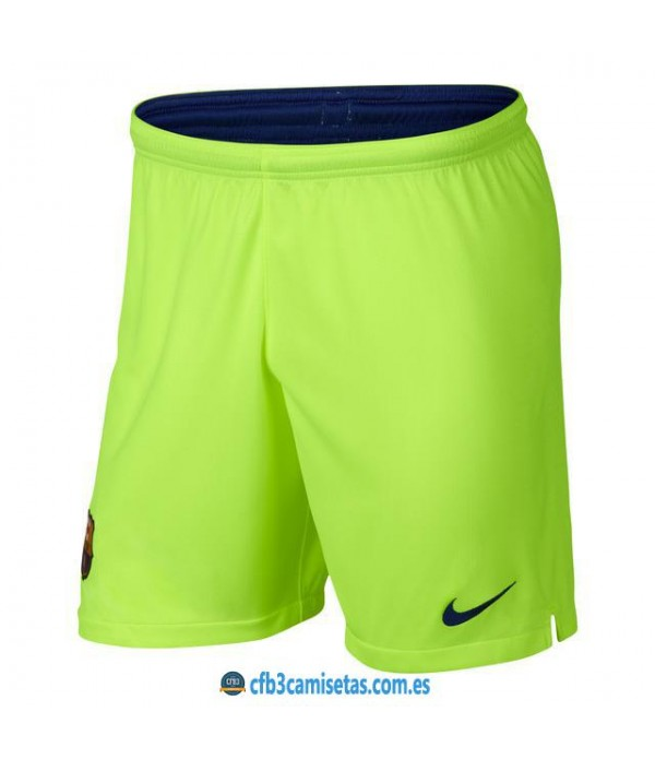 CFB3-Camisetas Pantalones 2a FC Barcelona 2018 2019