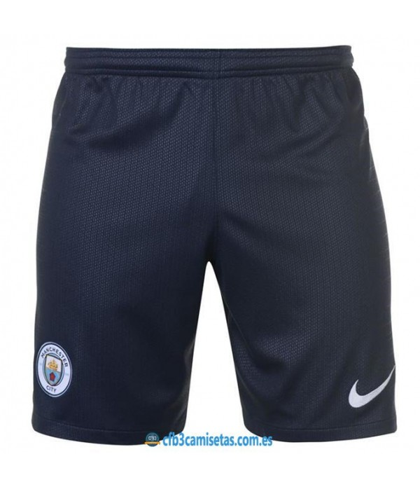 CFB3-Camisetas Pantalones 2a Manchester City 2018 2019