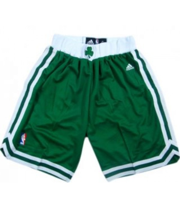 CFB3-Camisetas Pantalones Boston Celtics Verde y b...