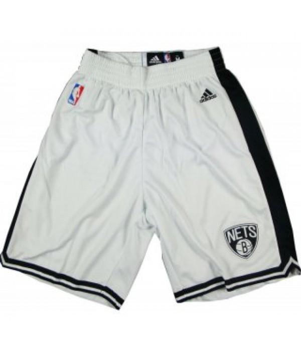 CFB3-Camisetas Pantalones Brooklyn Nets Blanco