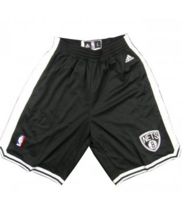CFB3-Camisetas Pantalones Brooklyn Nets Negro