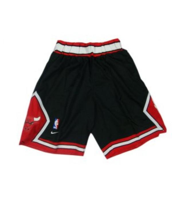 CFB3-Camisetas Pantalones Chicago Bulls Negro