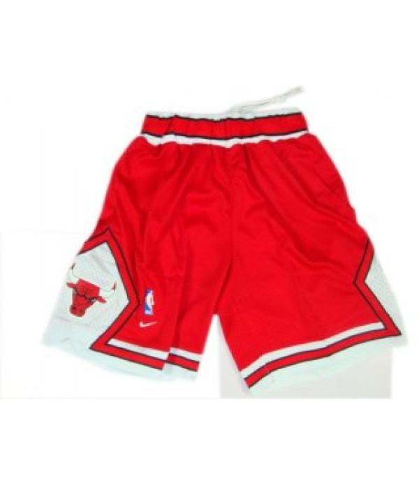 CFB3-Camisetas Pantalones Chicago Bulls Rojo