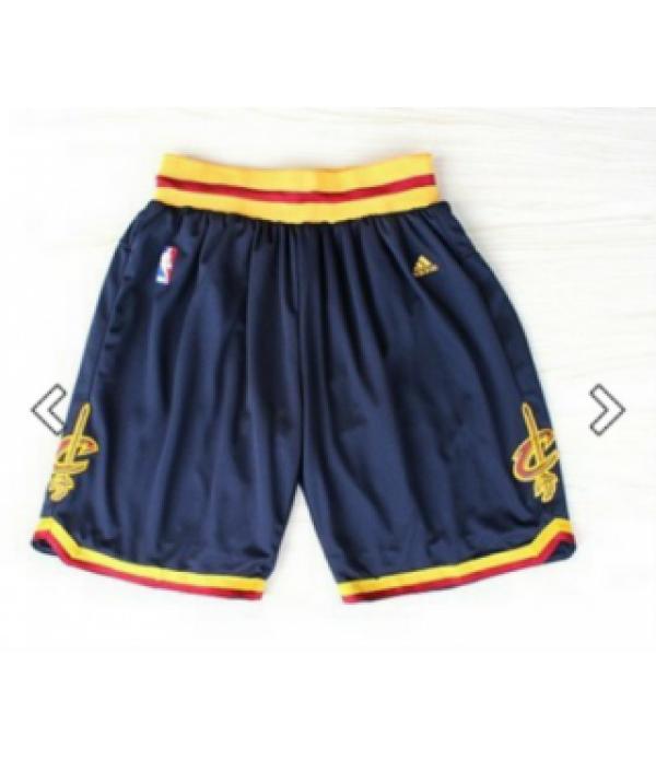 CFB3-Camisetas Pantalones Cleveland Cavaliers Blue