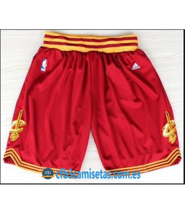 CFB3-Camisetas Pantalones Cleveland Cavaliers rojo