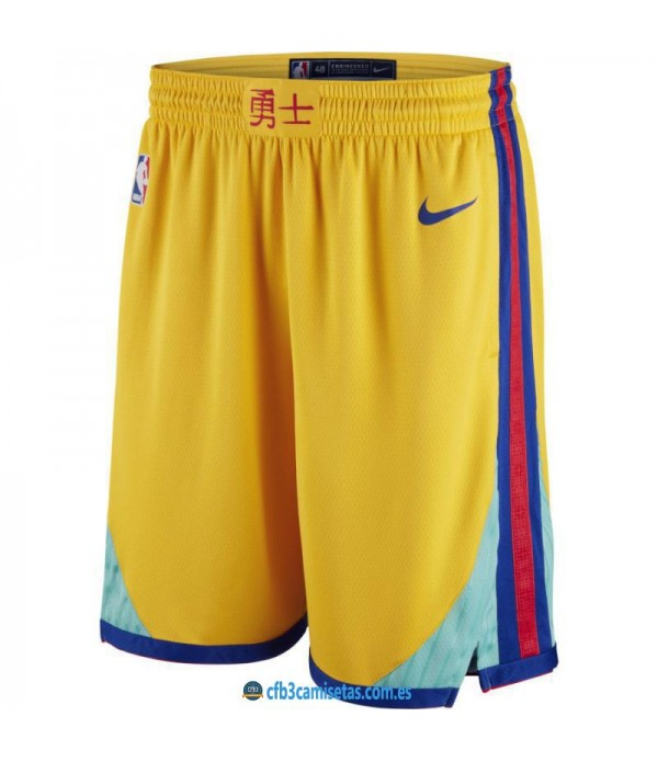 CFB3-Camisetas Pantalones Golden State Warriors Ci...