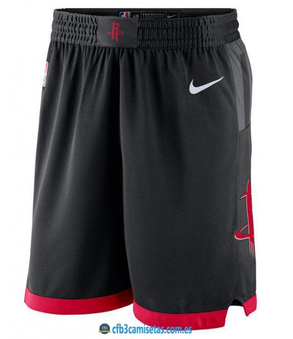 CFB3-Camisetas Pantalones Houston Rockets Statemen...