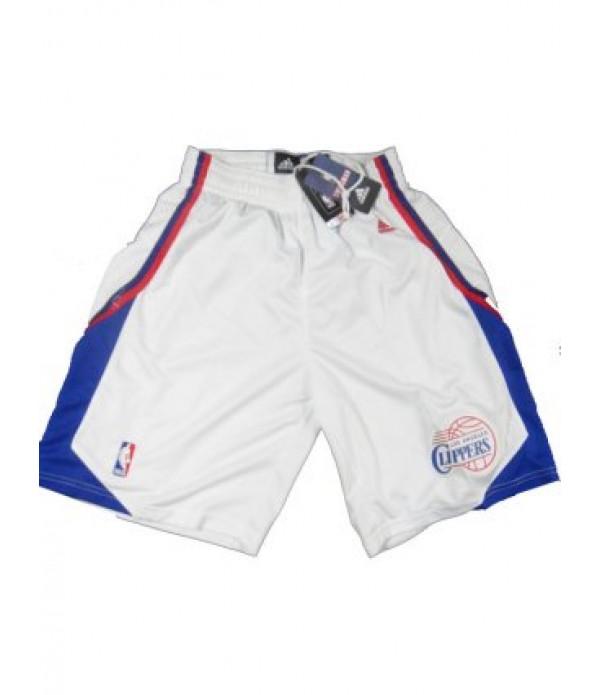 CFB3-Camisetas Pantalones Los Angeles Clippers Bla...