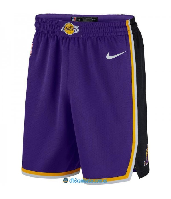 CFB3-Camisetas Pantalones Los Angeles Lakers 2018 ...