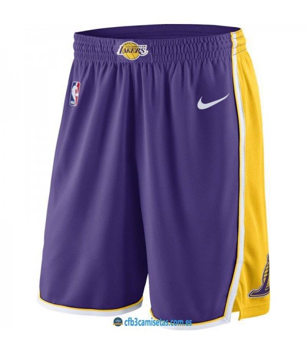 CFB3-Camisetas Pantalones Los Angeles Lakers Assoc...