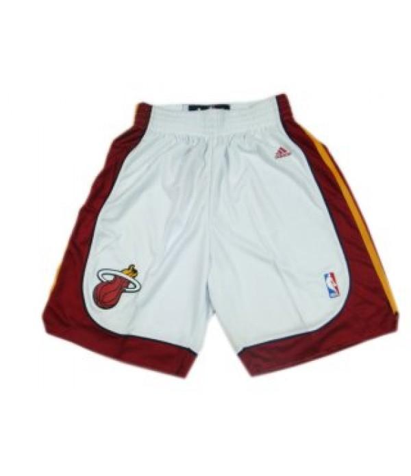 CFB3-Camisetas Pantalones Miami Heat Blanco