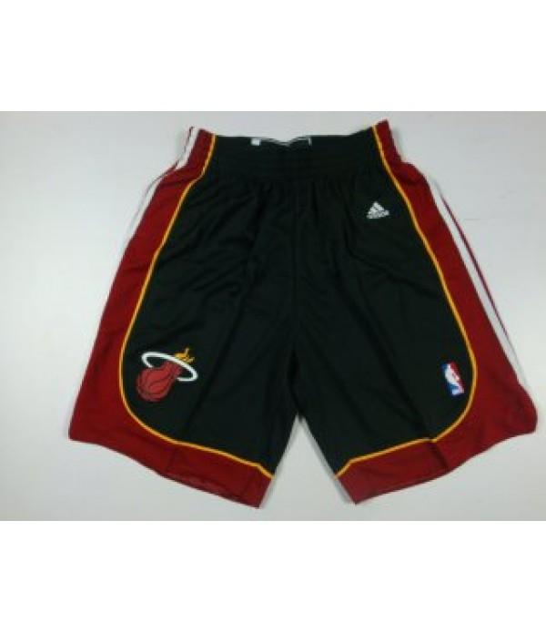 CFB3-Camisetas Pantalones Miami Heat Negro
