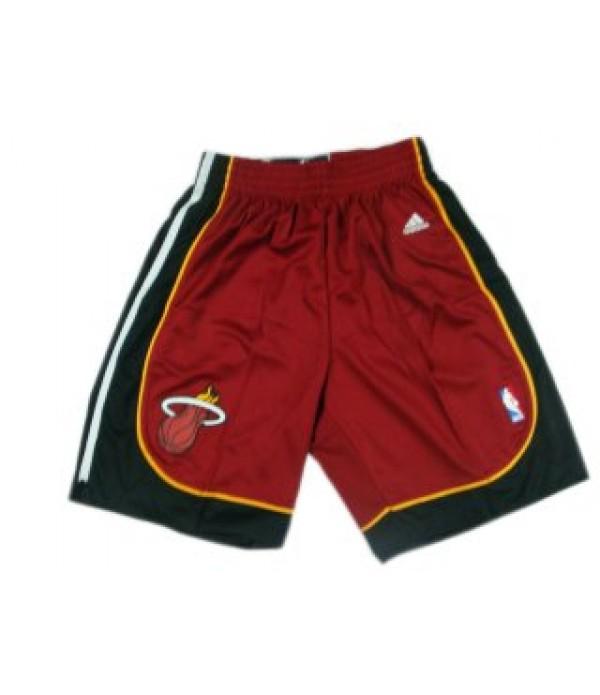 CFB3-Camisetas Pantalones Miami Heat Rojo