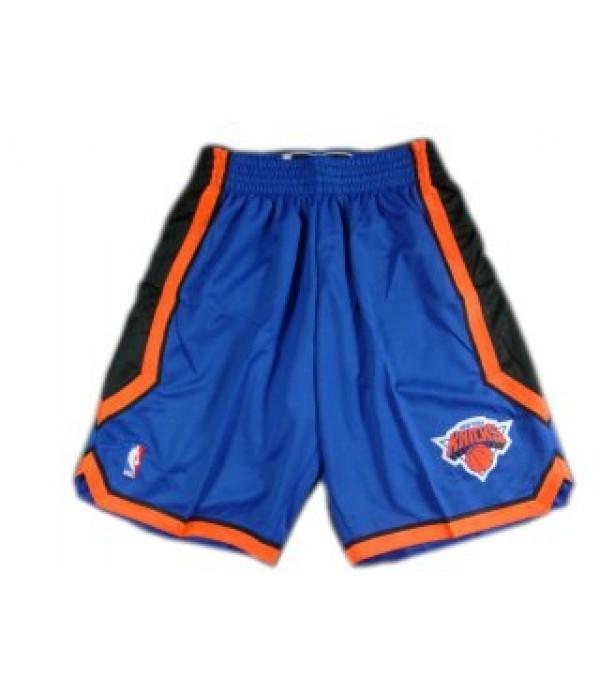 CFB3-Camisetas Pantalones New York Knicks Azul
