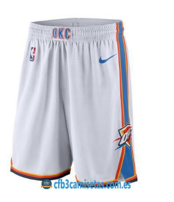 CFB3-Camisetas Pantalones Oklahoma City Thunder Association