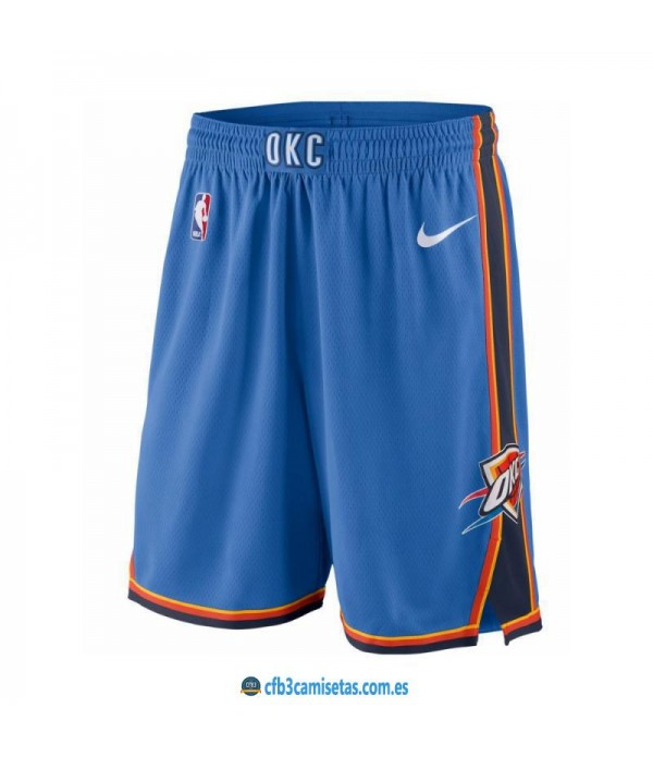 CFB3-Camisetas Pantalones Oklahoma City Thunder Icon