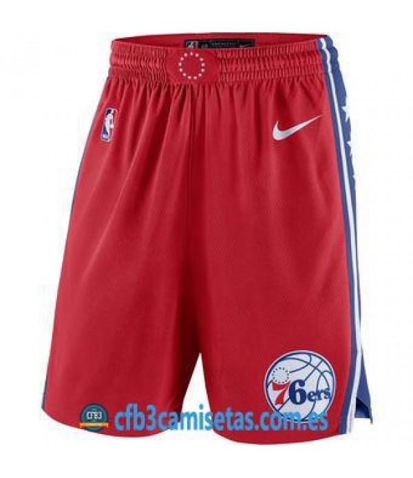 CFB3-Camisetas Pantalones Philadelphia 76ers State...