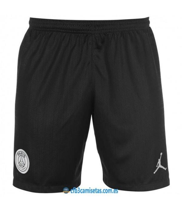 CFB3-Camisetas Pantalones PSG x Jordan 3a 2018 201...