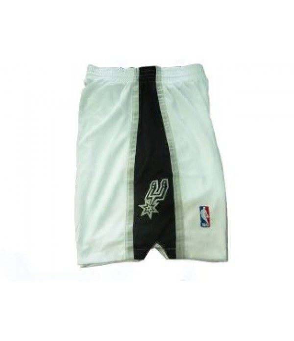 CFB3-Camisetas Pantalones San Antonio Spurs Blanco...