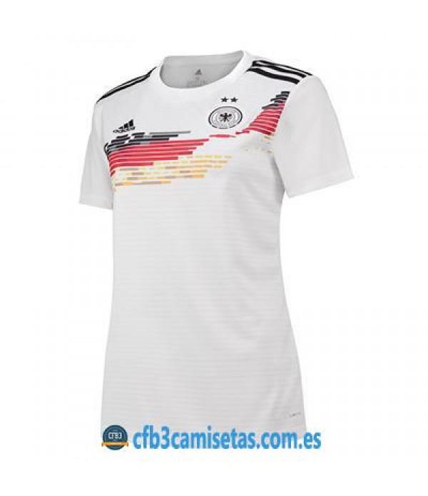 CFB3-Camisetas Alemania 1a Equipación 2019 MUJER