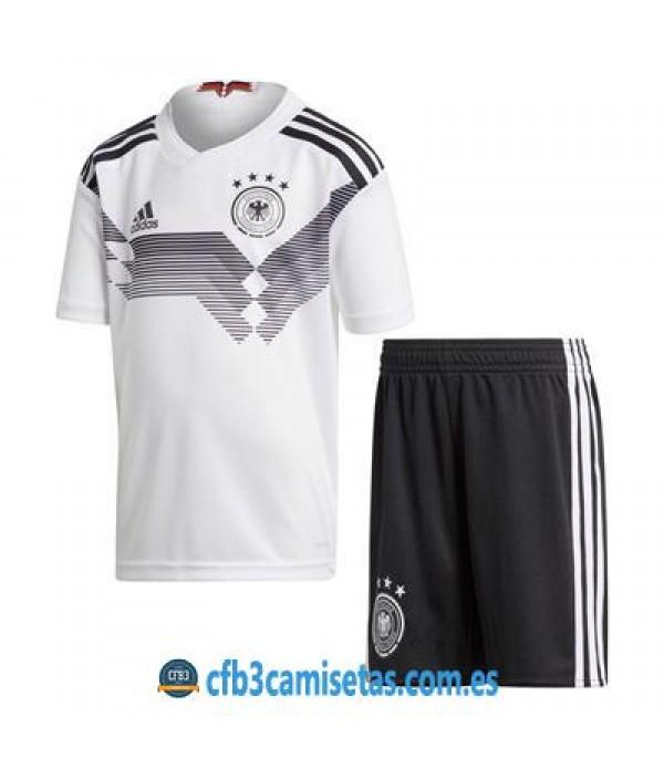 CFB3-Camisetas Alemania 1ª equipacion Mundial 2018 NIÑOS