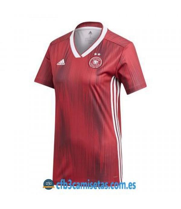 CFB3-Camisetas Alemania 2a Equipación 2019 MUJER