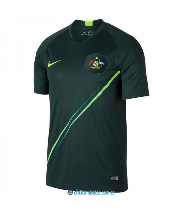 CFB3-Camisetas Australia 2a Equipación 2018