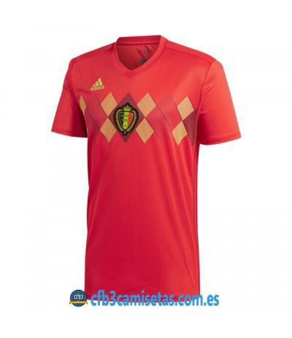 CFB3-Camisetas Bélgica 1ª Equipación 2018