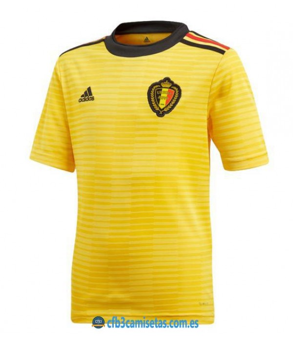 CFB3-Camisetas Bélgica 2ª Equipación 2018