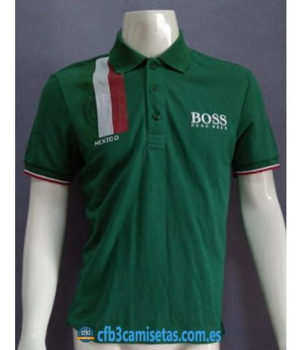 CFB3-Camisetas Boss de México verde