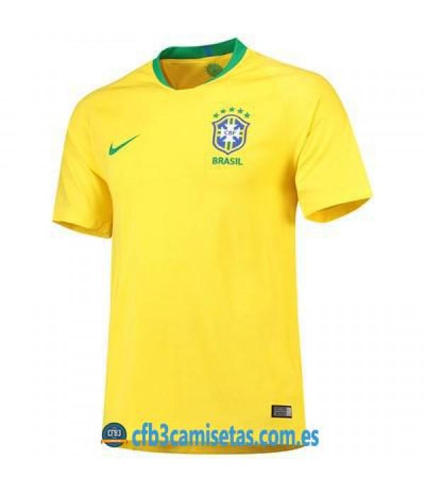 CFB3-Camisetas Brasil 1a Equipación 2018