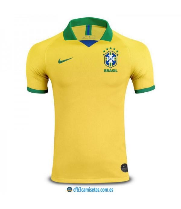 CFB3-Camisetas Brasil 1a Equipación 2019 2020