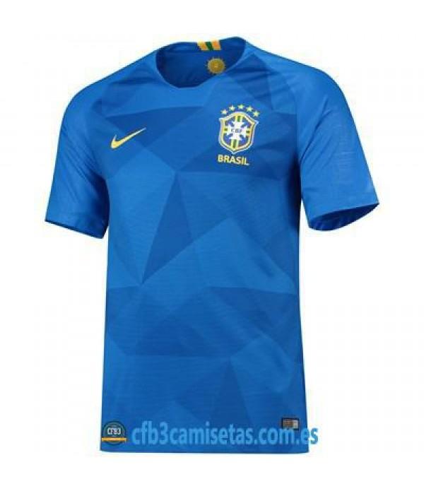 CFB3-Camisetas Brasil 2a Equipación 2018