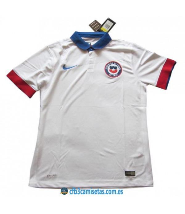 CFB3-Camisetas Camiseta Chile 2ª equipacion