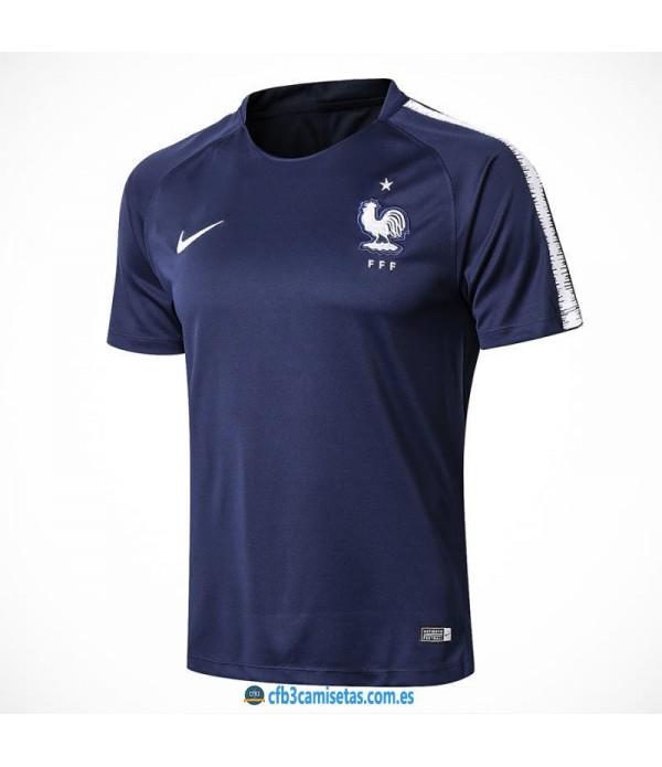 CFB3-Camisetas Camiseta Entrenamiento Francia 2018...