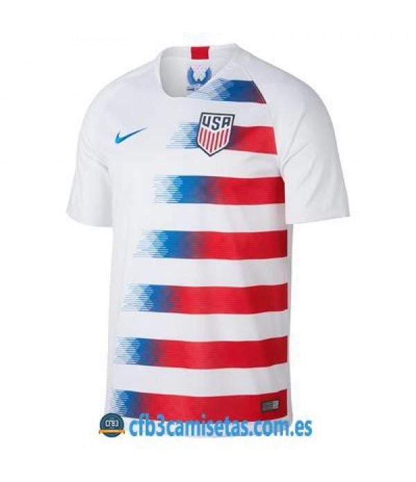 CFB3-Camisetas Camiseta Estados Unidos 1ª 2018
