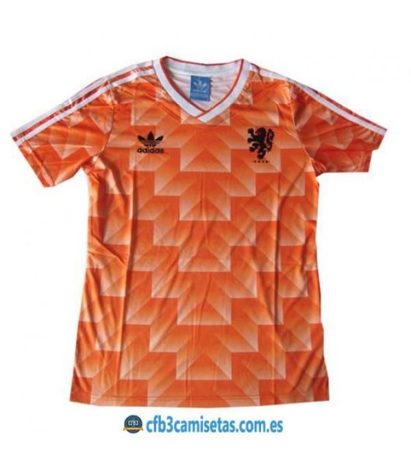 CFB3-Camisetas Camiseta Holanda Retro Euro 1988